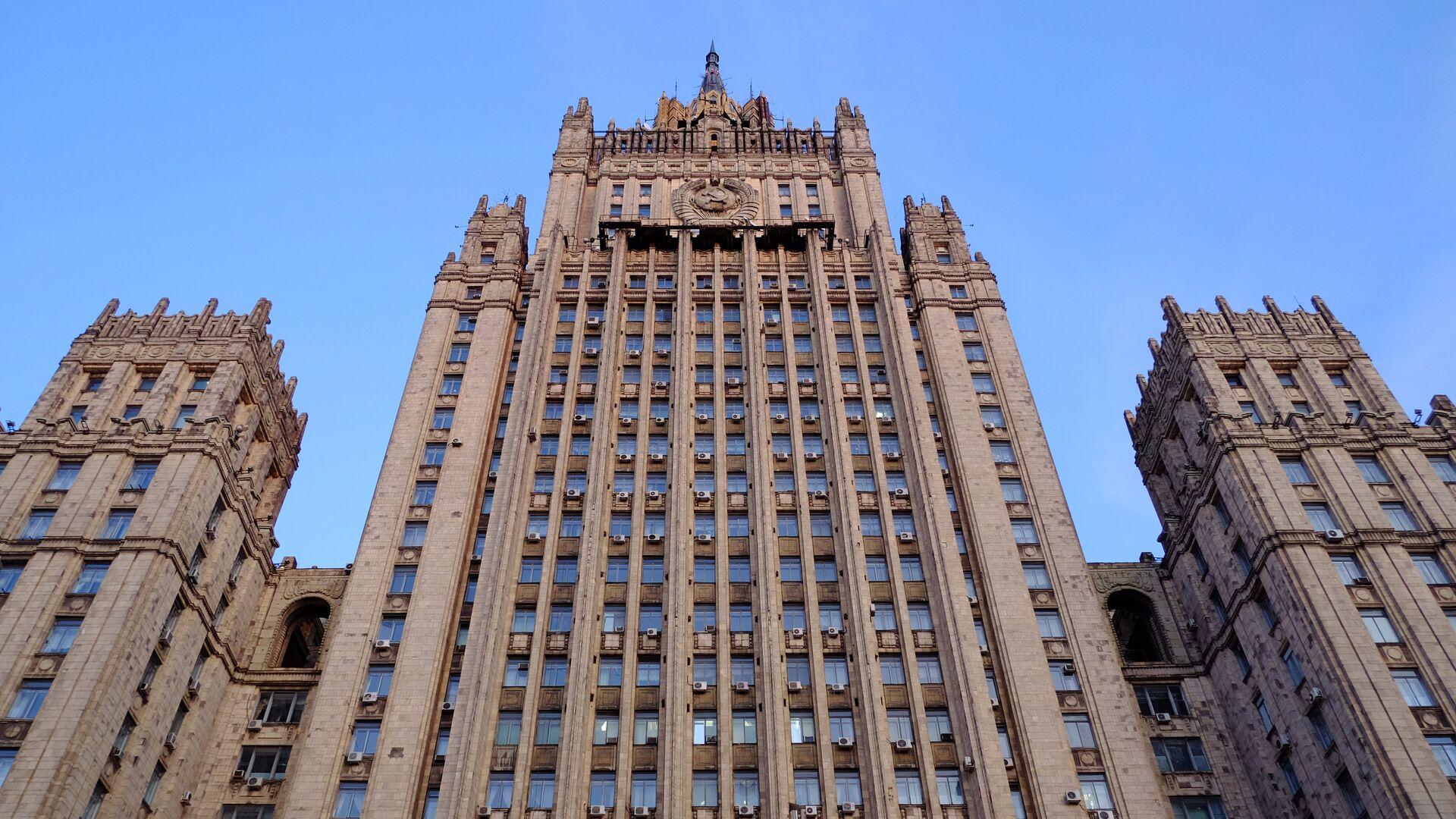 Здание министерства иностранных дел РФ на Смоленской-Сенной площади в Москве - РИА Новости, 1920, 04.03.2021