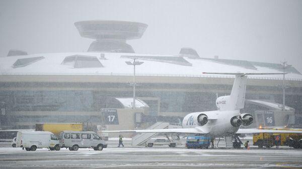 Терминал аэропорта Внуково Архивное фото