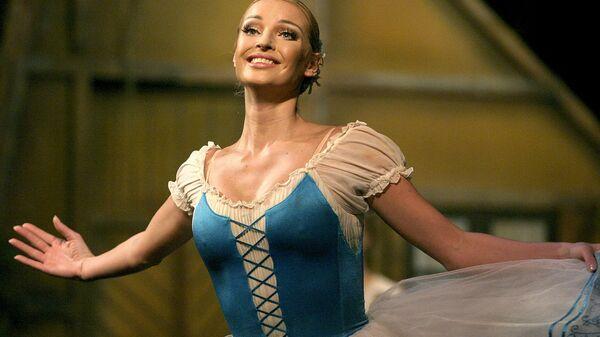 Балерина Анастасия Волочкова выступает в Санкт-Петербурге