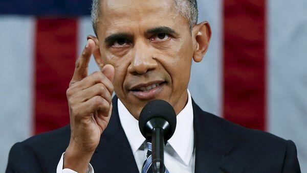 Барак Обама в конгрессе США