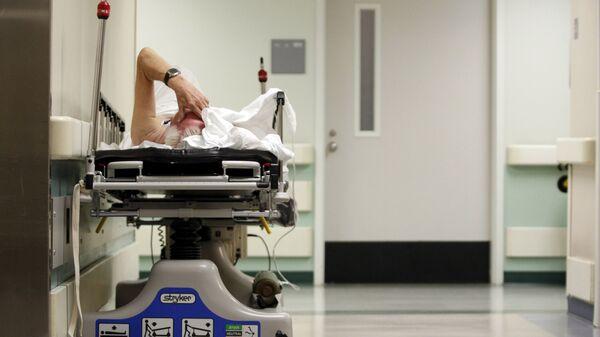 Пациент в одной из больниц Хьюстона