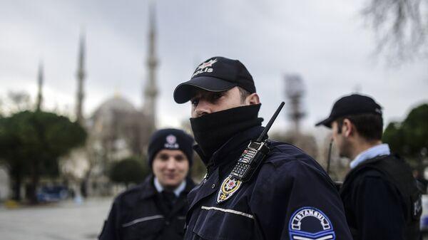 Турецкая полиция. Архивное фото.