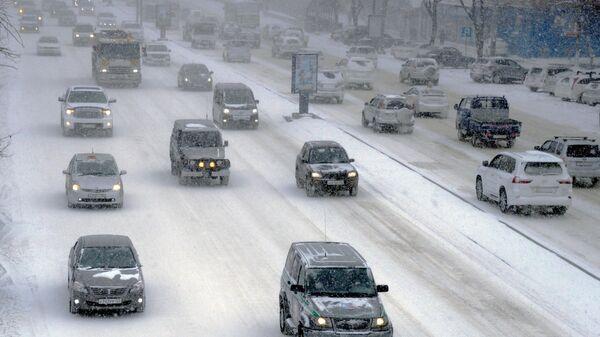 Циклон во Владивостоке