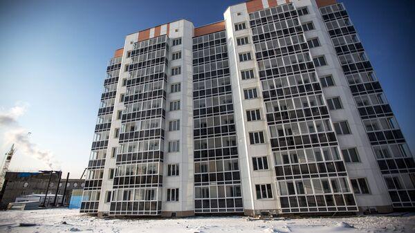 Дом для молодых специалистов космодрома Восточный в городе Циолковский Амурской области