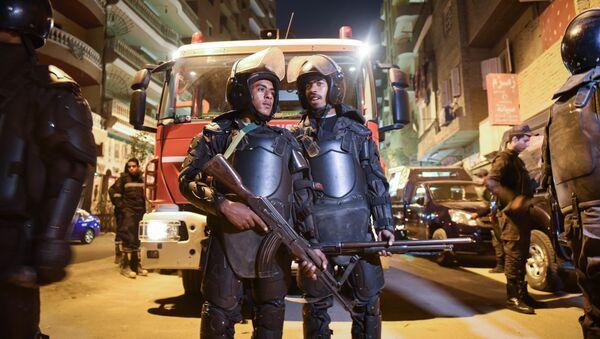 Полицейские в Каире. Архивное фото