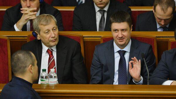 Вячеслав Кириленко (справа). Архивное фото