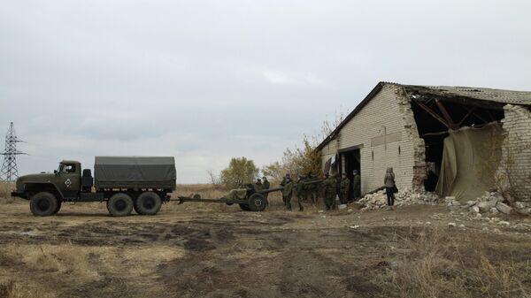 Отвод военной техники в ДНР. Архивное фото