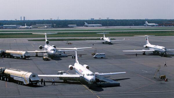 Самолеты в аэропорту Шереметьево-2