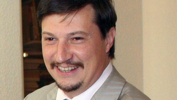 Проректор по международной деятельности Санкт-Петербургского политехнического университета Петра Великого, профессор Дмитрий Арсеньев