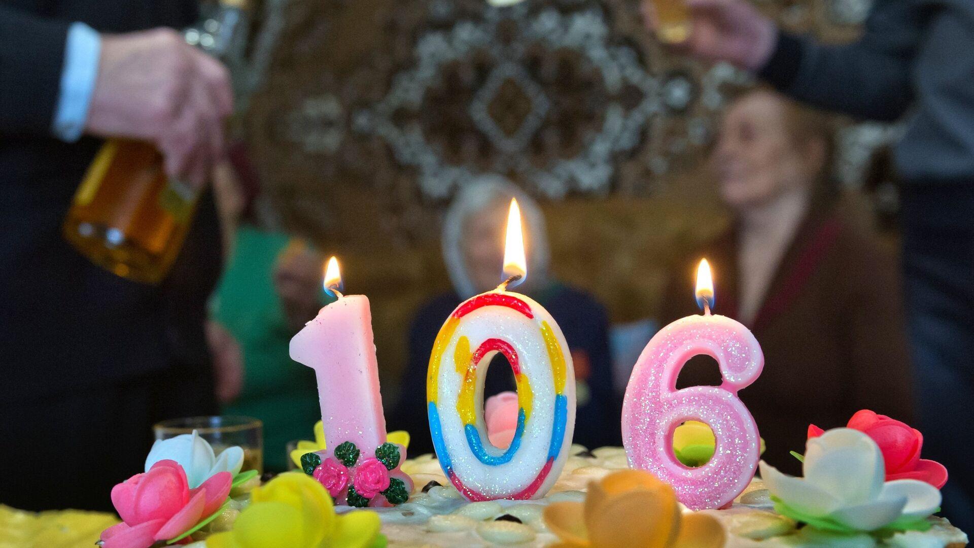 106 лет исполнилось старейшей жительнице Симферопольского района Крыма Агафье Дьячковой - РИА Новости, 1920, 29.07.2020