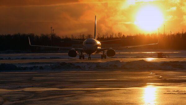 Самолет в аэропорту Домодедово. Архивное фото