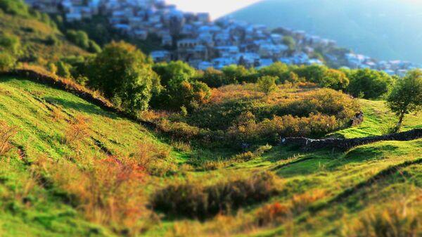 Посёлок Кубачи (старые) в Дахадаевском районе Республики Дагестан
