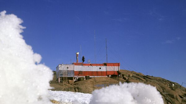 Обсерватория Мирный - первая советская антарктическая станция. Побережье моря Дэвиса