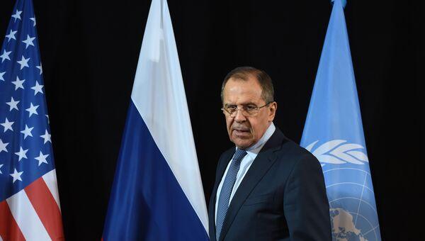 Глава МИД России Сергей Лавров в Мюнхене. Архивное фото