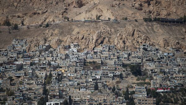 Лагерь беженцев в Дамаске. Архивное фото