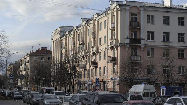 Дом на пересечении Парковой улицы и проспекта Ленина в подмосковной Балашихе