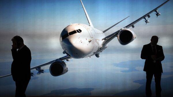 Стенд компании Boeing
