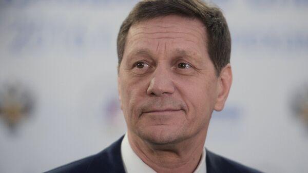 Первый вице-спикер Александр Жуков. Архивное фото