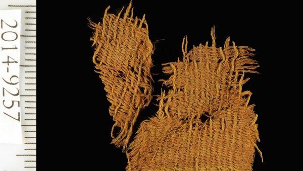 Ткань, найденная в медной шахте в окрестностях Тимны в Израиле