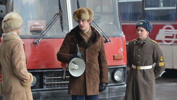 Съемочная площадка сериала Гостиница Россия