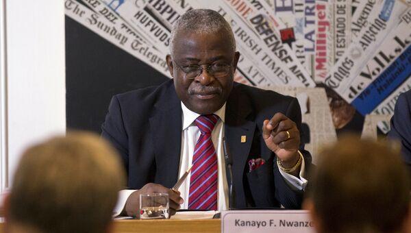 Президент Международного фонда сельскохозяйственного развития (IFAD) Канайо Нванзе