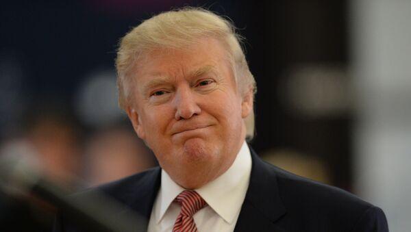 Американский миллиардер и телеведущий Дональд Трамп в Москве. Архивное фото