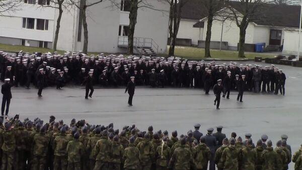 Викинг-фанк от норвежских военных