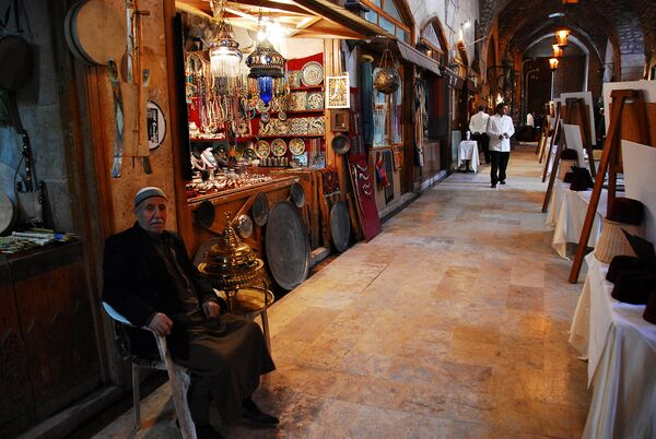 Старый рынок в Алеппо. 2007 год