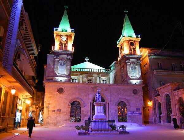 Маронитский собор Святого Илии-пророка в Алеппо. 2007 год
