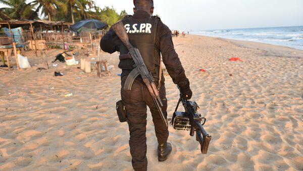 Военный. Кот-д'Ивуар. Архивное фото