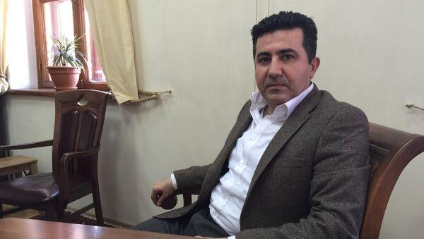 Официальный представитель правительства иракского Курдистана в Москве Асо Талабани