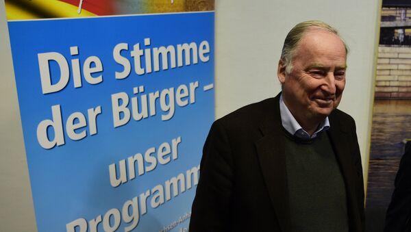 Вице-председатель партии Альтернатива для Германии Александер Гауланд. Архивное фото