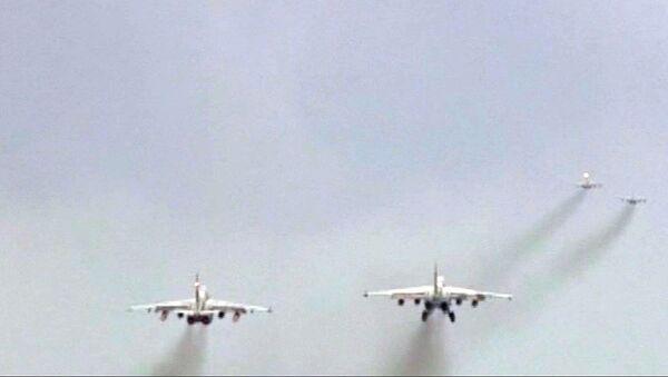 Путь домой: российские штурмовики Су-25 покинули Сирию