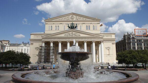 Здание Большого театра в Москве. Архивное фото