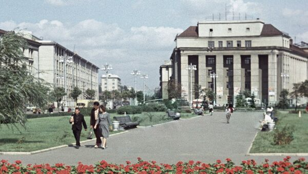 Минск. Белоруссия. Архивное фото