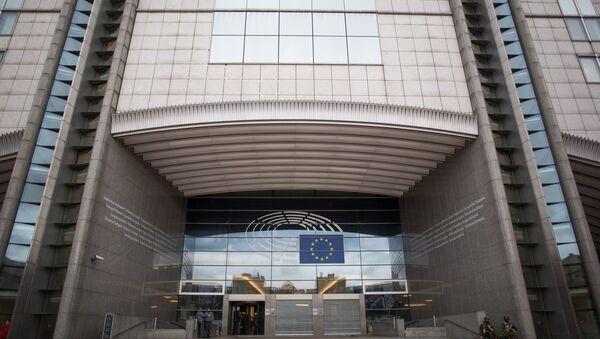 Здание ЕС в Брюсселе. Архивное фото