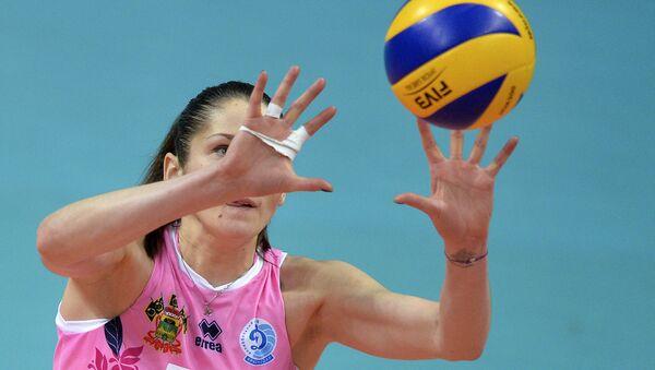 Игрок ВК Динамо (Краснодар) Татьяна Кошелева, архивное фото