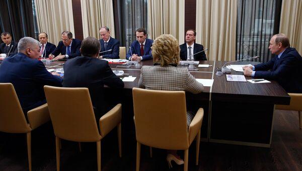 Расширенное заседание Совбеза ООН. Архивное фото
