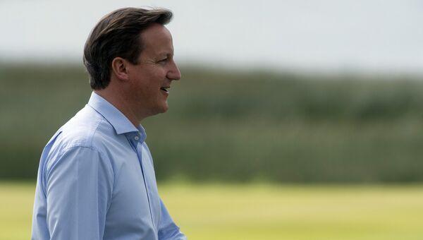 Премьер-министр Великобритании Дэвид Кэмерон. Архивное фото