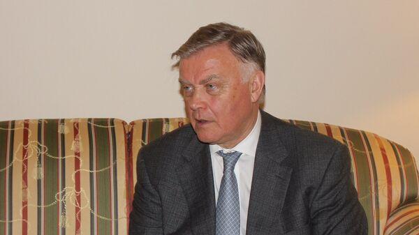 Председатель попечительского совета Фонда Андрея Первозванного Владимир Якунин