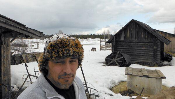 Американский индеец Джастин Ирвин