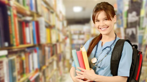 Студентка медицинского ВУЗа
