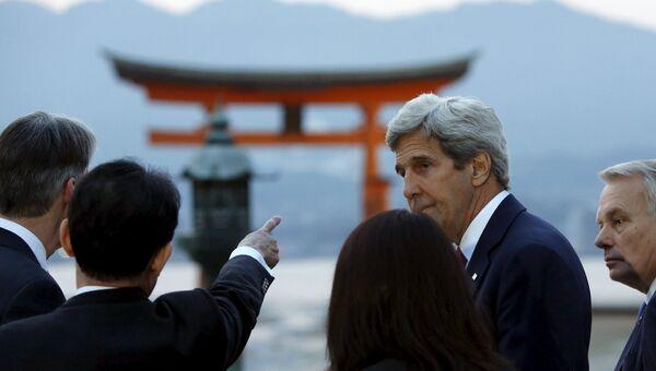 Джон Керри в Японии