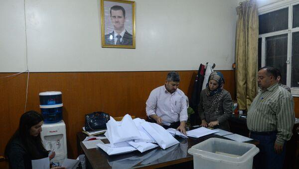 Парламентские выборы в Сирии. Архивное фото