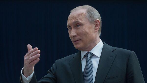 В.В.Путин. Архивное фото