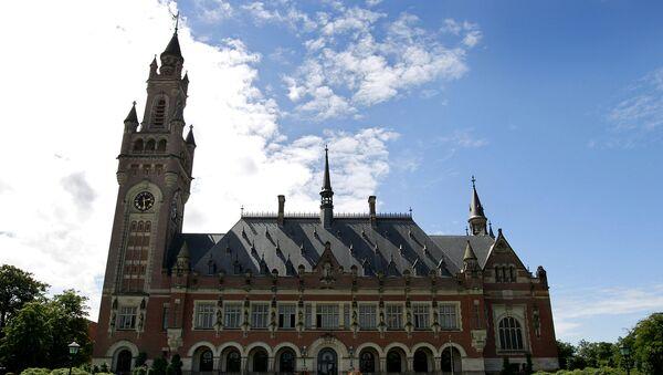 Здание Международного суда в Гааге. Архивное фото