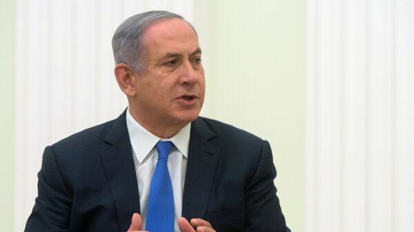 Премьер-министр Израиля Б. Нетаньяху. Архивное фото