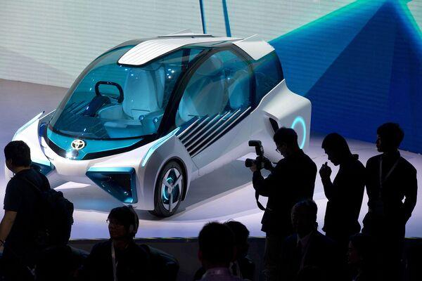 Концепт-кар FCV Toyota Motor Corp. Пекинский автосалон, апрель 2016