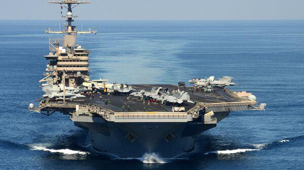 Авианосец USS John C. Stennis. Архивное фото