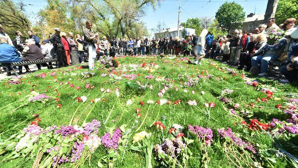 День памяти по погибшим в Одессе 2 мая 2014 года. Архивное фото